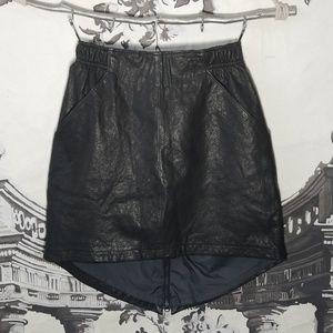 Nike Genuine Leather Skirt
